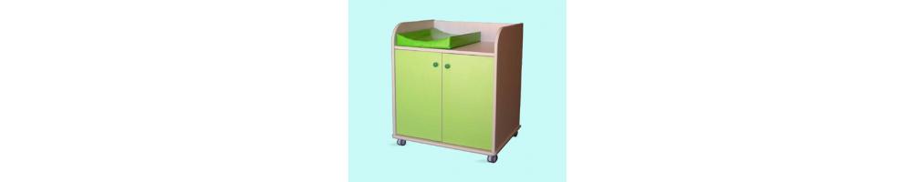 Mobiliario infantil de aseo y mobiliario aulas - EDIME