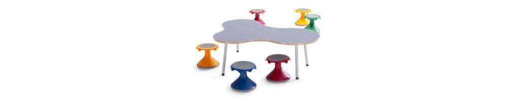 Mesas infantiles - Equipamiento escolar EDIME
